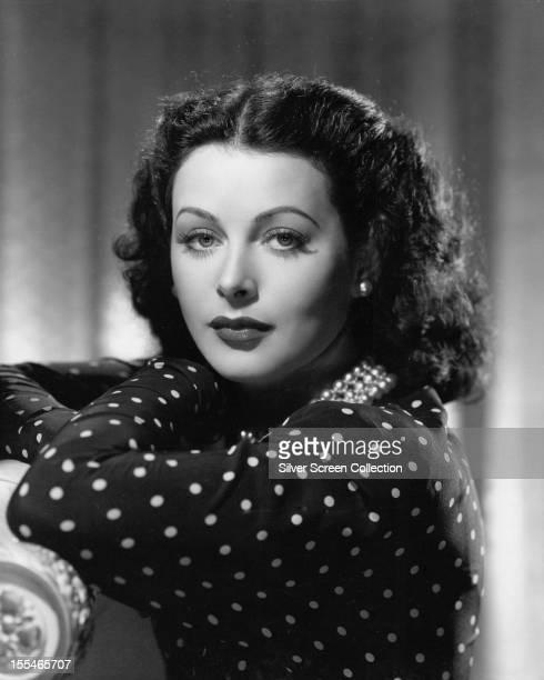Austrian-born American actress Hedy Lamarr , circa 1945.