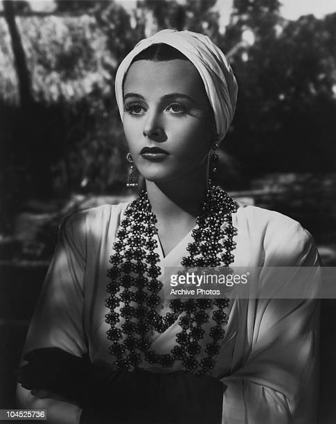Austrianborn American actress Hedy Lamarr in Jack Conway's romantic drama 'Lady Of The Tropics' 1939