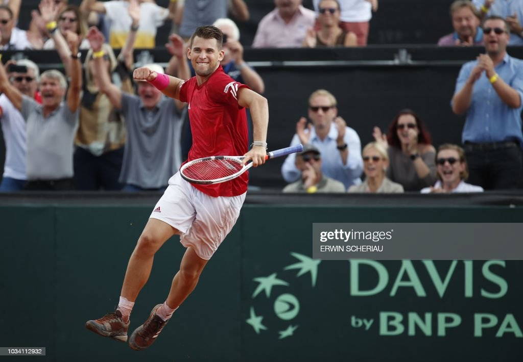 TENNIS-DAVIS-AUT-AUS : News Photo