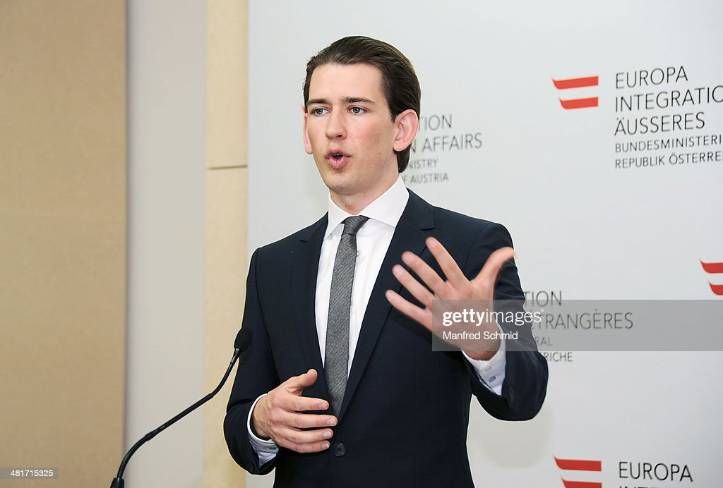 Press Conference With Foreign Minister Sebastian Kurz