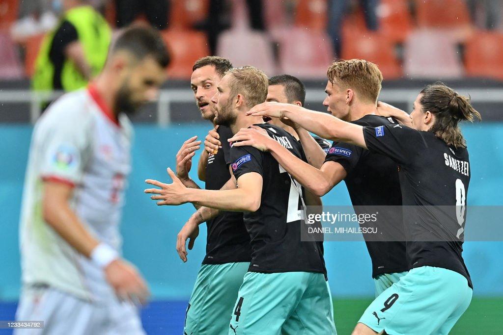 FBL-EURO-2020-2021-MATCH06-AUT-MKD : News Photo