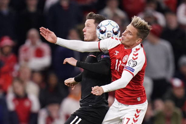 UNS: Denmark v Austria - 2022 FIFA World Cup Qualifier