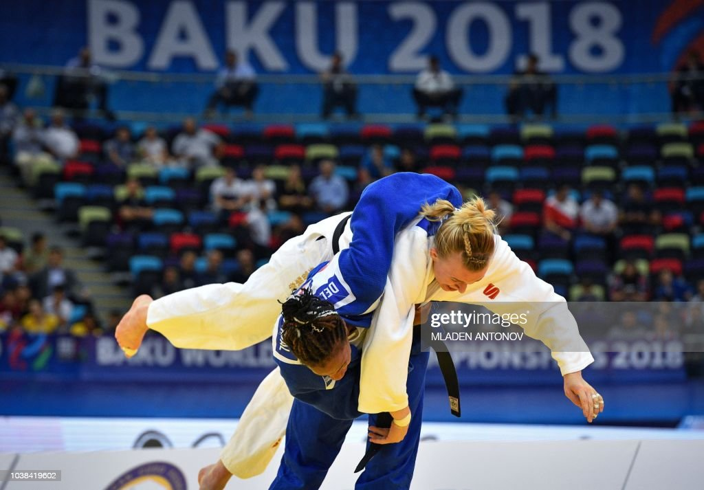 JUDO-WORLD-CHAMPIONSHIPS-WOMEN--63 : News Photo