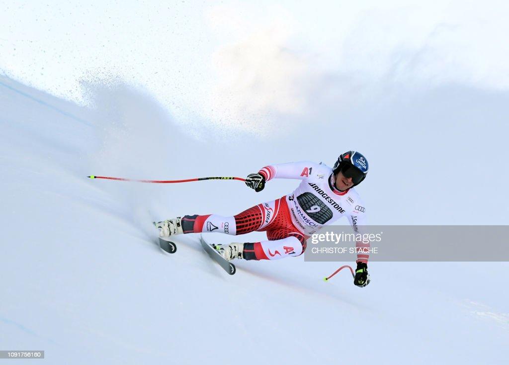 DEU: Audi FIS Alpine Ski World Cup - Men's Downhill Training
