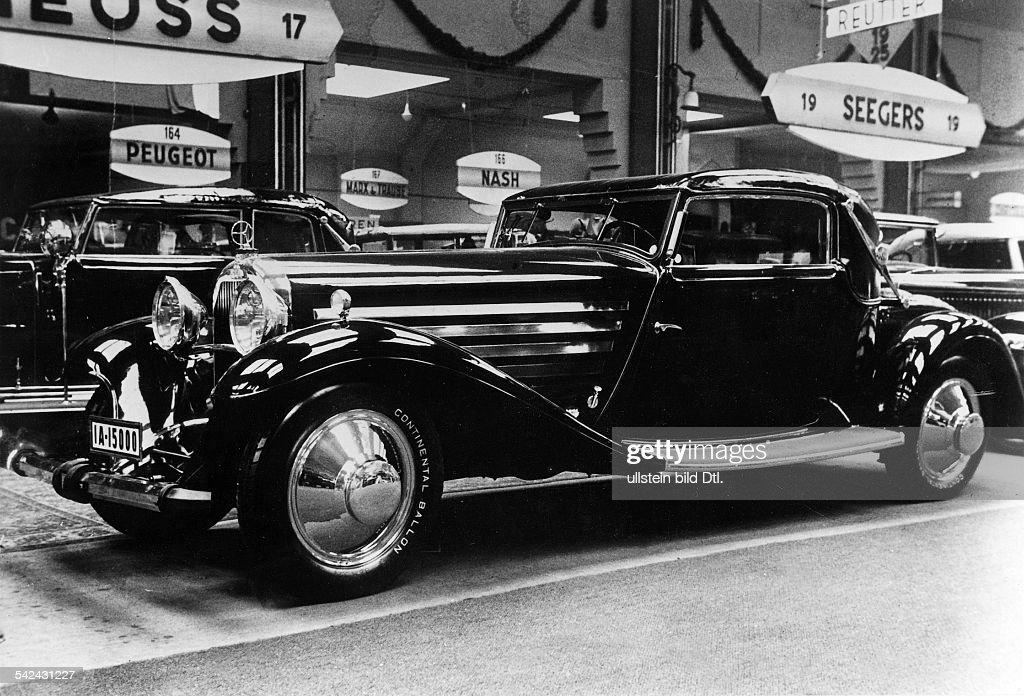 Austro Daimler Sportkabriolett 100 PS. Karosserie von Neuss1931 ...