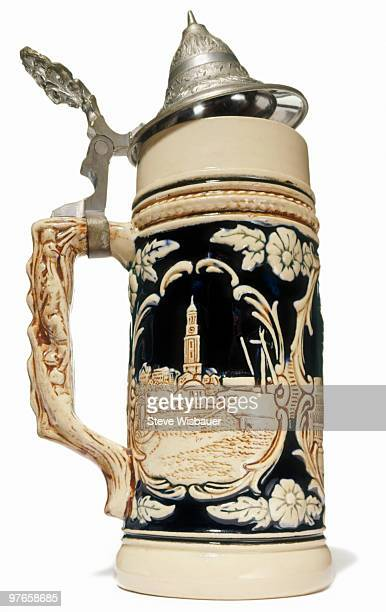 Authentic German beer stein