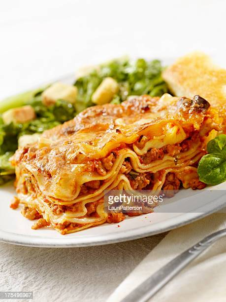 Authentic Italian Meat Lasagna