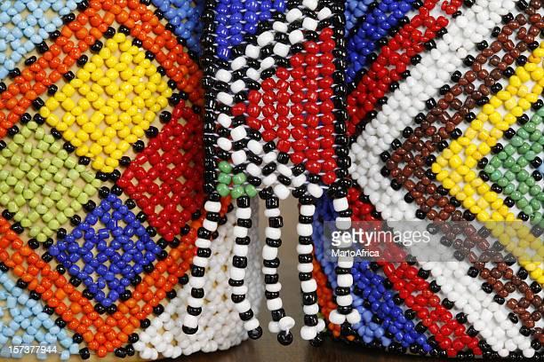 Authentische Zulu-design
