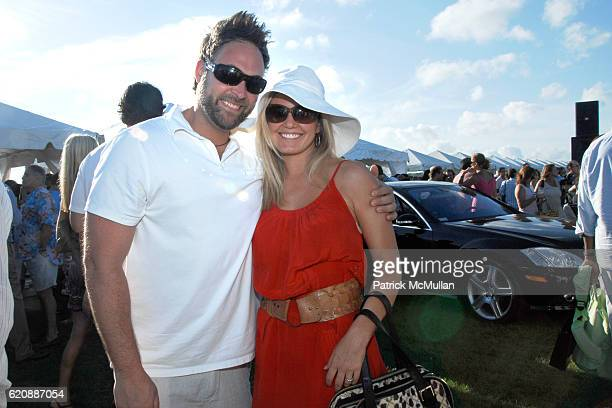 Auther Colombino and Terri Colombino attend T-MOBILE SIDEKICK Lounge at Mercedes-Benz Polo Challenge at Bridgehampton on August 23, 2008.