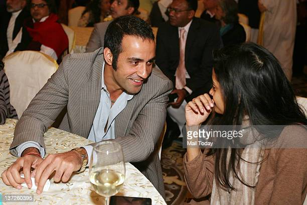 Author Aatish Taseer at the Delhi launch of Kalli Purie's book 'Confessions of Serial Dieter' on Sunday January 15 2012