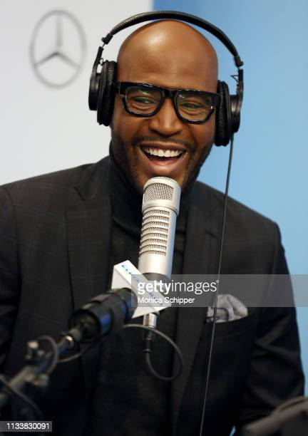 Author activist and television personality Karamo Brown visits 'The Elvis Duran Z100 Morning Show' at Z100 Studio on March 05 2019 in New York City