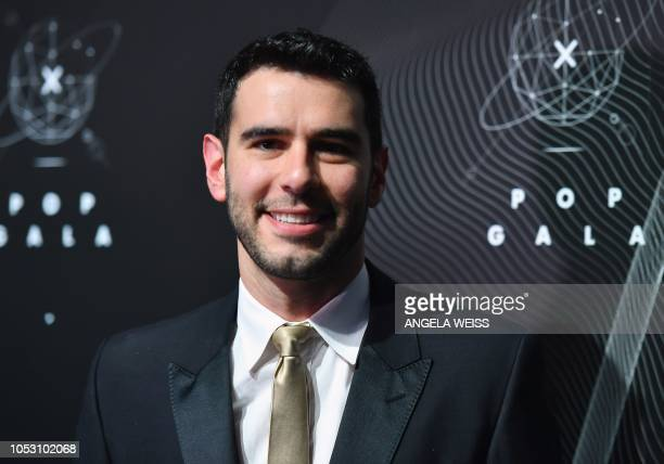 US author Adam Braun attends the 2018 Pencils of Promise Gala at Duggal Greenhouse Brooklyn Navy Yard on October 24 2018 in New York City