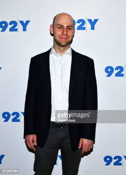 Author Adam Grant attends 92Y's event 'Sheryl Sandberg And Adam Grant In Conversation With Katie Couric' at 92nd Street Y on April 23 2017 in New...