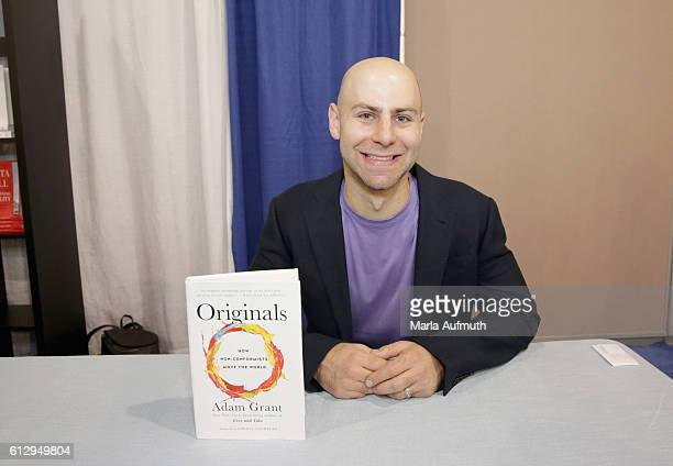 Author Adam Grant attends his book signing at the Pennsylvania Conference for Women 2016 at Pennsylvania Convention Center on October 6 2016 in...