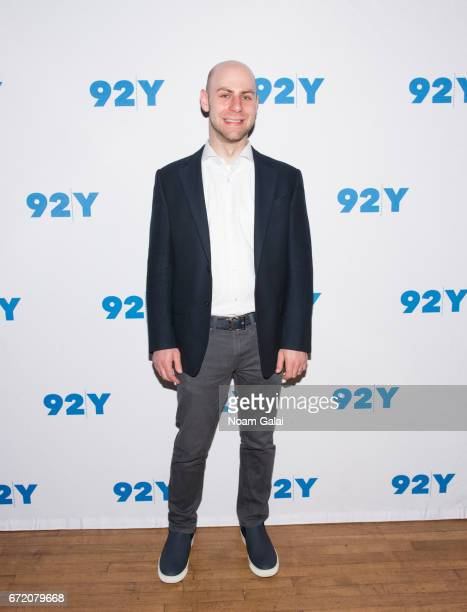 Author Adam Grant visits 92nd Street Y on April 23 2017 in New York City