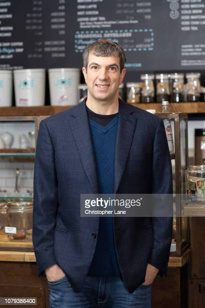 Author AJ Jacobs is photographed for The Guardian Newspaper on November 8 2018 in New York City