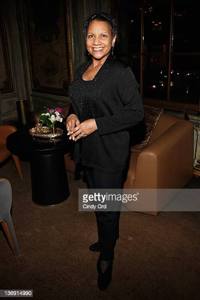 Author A'Lelia Bundles attends the Target salute to Miko Branch and Titi Branch to celebrate being named two of Ebony Magazine's Power 100 at GILT at...
