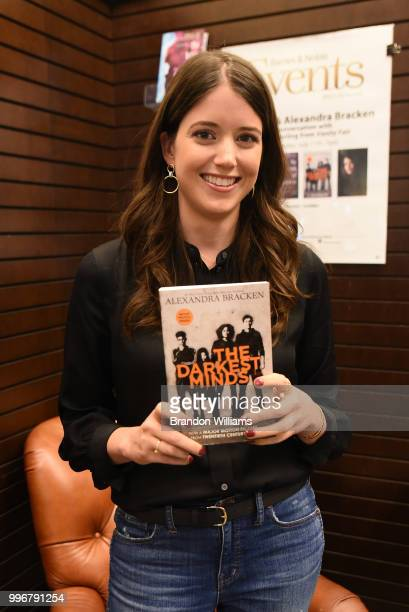 Author Alexandra Bracken attends her book signing for 'The Darkest Mind' at Barnes Noble at The Grove on July 11 2018 in Los Angeles California