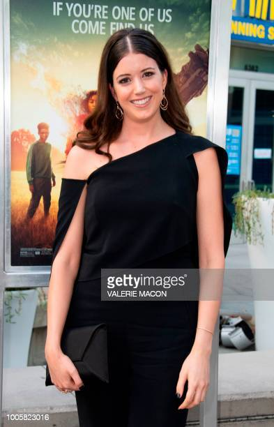 Author Alexandra Bracken attends The Darkest Minds Special Screening Event on July 26 in Hollywood California