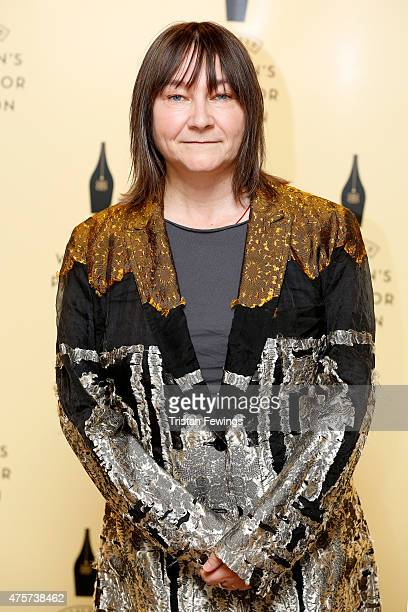 Author Ali Smith shortlisted for the 2015 Baileys Women's Prize for Fiction for How To Be Both pictured ahead of tonight's winner announcement at...