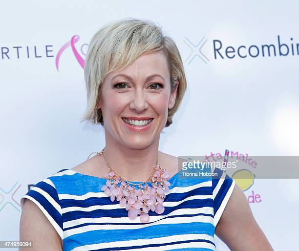 Author Alice Crisi attends A Night of Spectacular Ta Ta's Breast Cancer Benefit at The Renberg Theatre on May 27 2015 in Los Angeles California