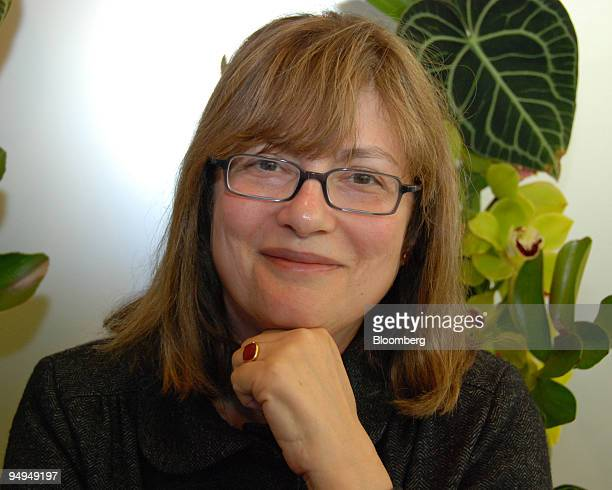 Author Alice Hoffman poses in New York US on June 4 2009 The Story Sisters is the latest work by Hoffman