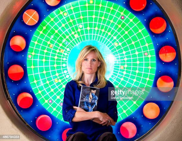 Author Allison Moore poses during a portrait shoot in Albuquerque New Mexico on April 25 2014 Her book SHARDS chronicles her story as a former...
