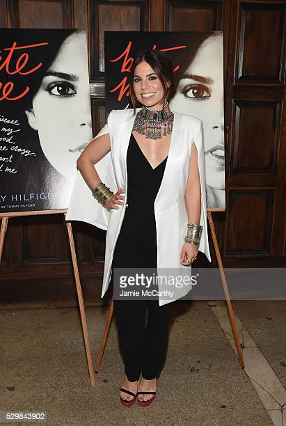 Author Ally Hilfiger attends the launch of Ally Hilfiger's book, 'Bite Me' hosted by Ally and Tommy Hilfiger at The Jane Hotel on May 9, 2016 in New...