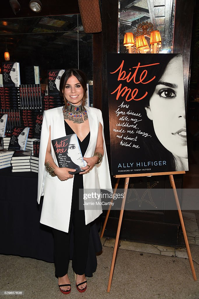 """Ally And Tommy Hilfiger Celebrate The Launch Of Ally's Book, """"Bite Me"""""""
