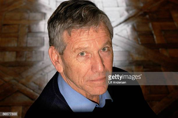 Author Amos Oz poses during promotion for his new book in Paris,France on the 25th of February 2004.
