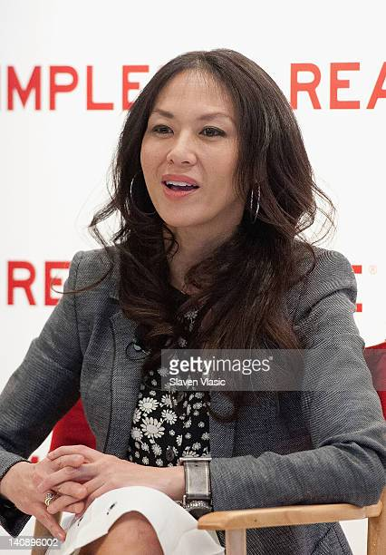 Author Amy Chua attends Real Simple's Women Time What Makes Her Tick at the Time Life Building on March 7 2012 in New York City