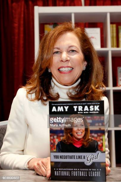 Author Amy Trask attends the Watermark Conference for Women 2018 at San Jose Convention Center on February 23 2018 in San Jose California