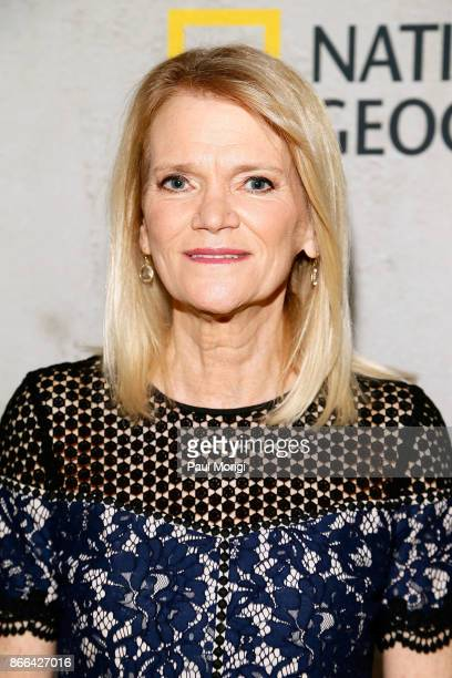 Author and ABC News Chief Foreign Affairs Correspondent Martha Raddatz attends 'The Long Road Home' Washington DC Premiere on October 25 2017 at...