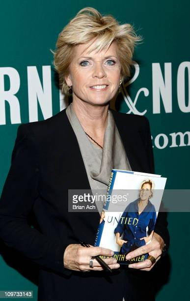 Author and actress Meredith Baxter promotes her new book Untied A Memoir of Family Fame and Floundering at Barnes Noble Union Square on March 2 2011...