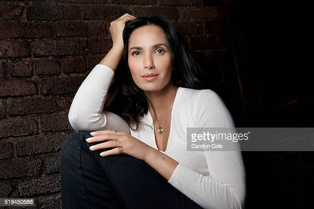 Author and actress Padma Lakshmi is photographed for Los Angeles Times on March 23 2016 in Los Angeles California PUBLISHED IMAGE CREDIT MUST READ...