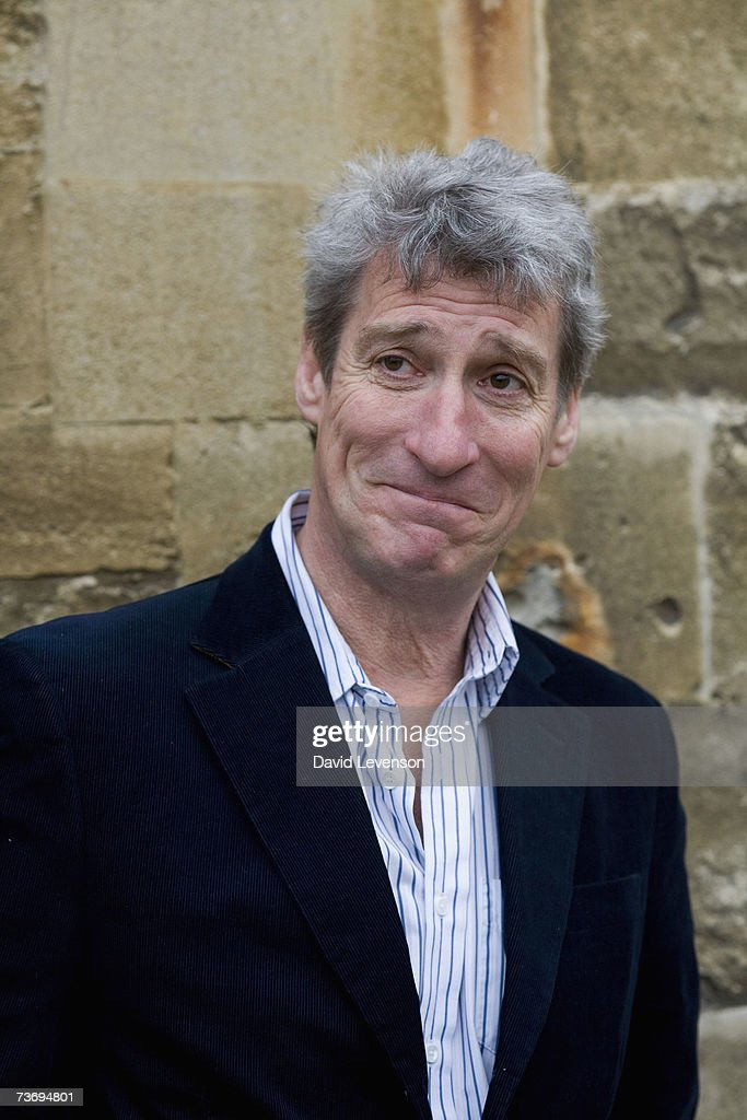 Author and Broadcaster Jeremy Paxman poses for a portrait at the annual 'Sunday Times Oxford Literary Festival' held at Christ Church on March 24, 2007 in Oxford, England.