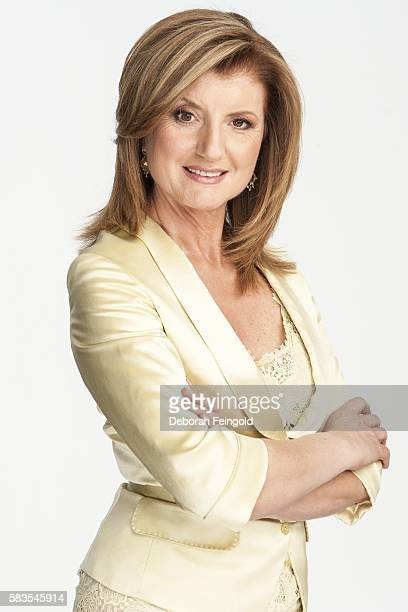 Author and columnist Arianna Huffington poses for a portrait on March 1 2006 in New York New York