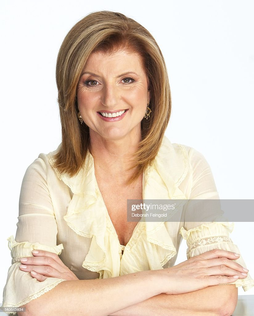 Author and columnist Arianna Huffington poses for a portrait on March 1, 2006 in New York, New York.