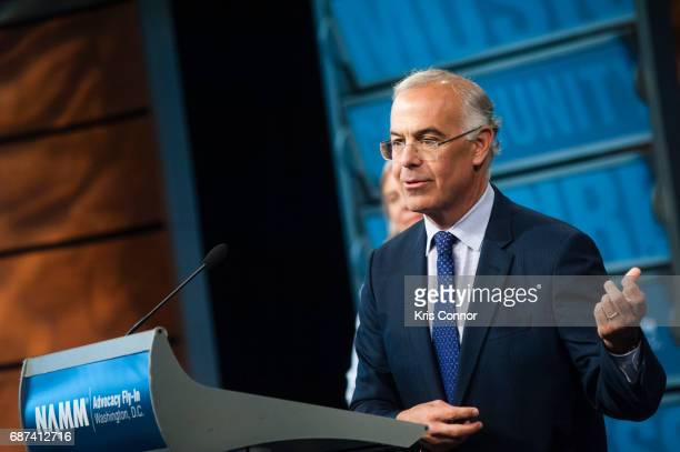 Author and columnist David Brooks speaks during the NAMM FlyIn For Music Education Briefing in reference to the 2017 national political and election...