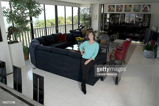Author and daughter of Dean Martin Deana Martin is photographed on October 1 2004 at home in Beverly Hills California