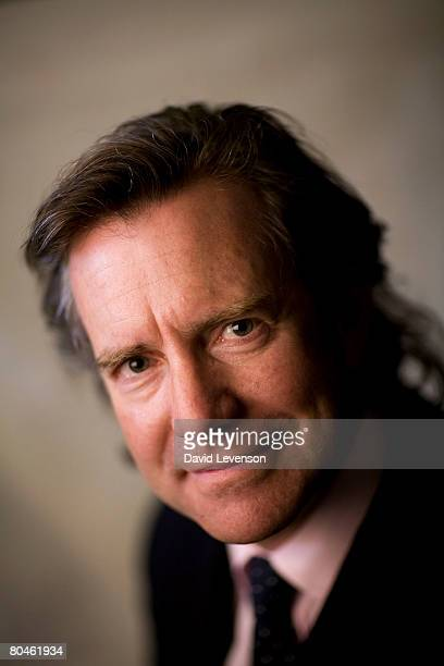 Author and Director of Corporaes for Crisis Hugo Slim poses for a portrait at the annual Sunday Times Oxford Literary Festival held at Christ Church...