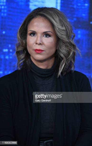 Author and domestic violence awareness advocate Sil Lai Abrams seen on the set of the Story with Martha MacCallum at Fox News Channel Studios on...