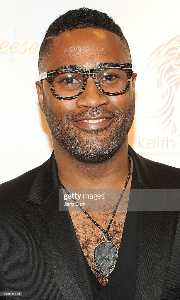 Author and Hair architect Keith Campbell attends the 'Cuts Of Our Infirmities' book launch party at the Tracy Reese Boutique on April 22, 2010 in New York City.