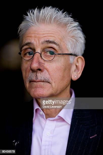 Author and Historian Sir Roy Strong poses for a portrait at the annual Sunday Times Oxford Literary Festival held at Christ Church on April 1 2008 in...