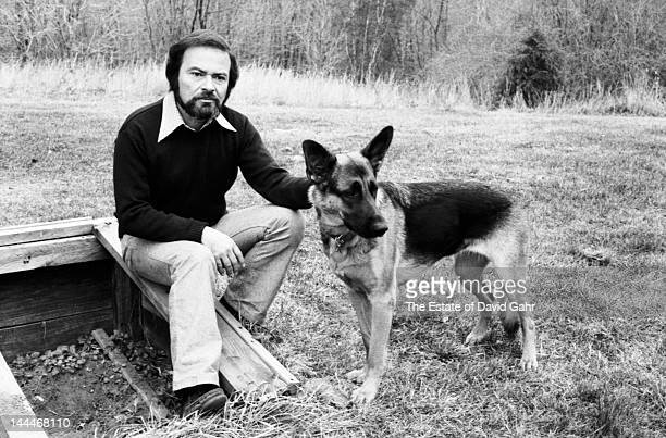 Author and illustrator Maurice Sendak poses for a portrait at home in November 1973 in Ridgefield Connecticut
