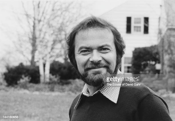 Author and illustrator Maurice Sendak poses for a portrait session at home in November 1973 in Connecticut