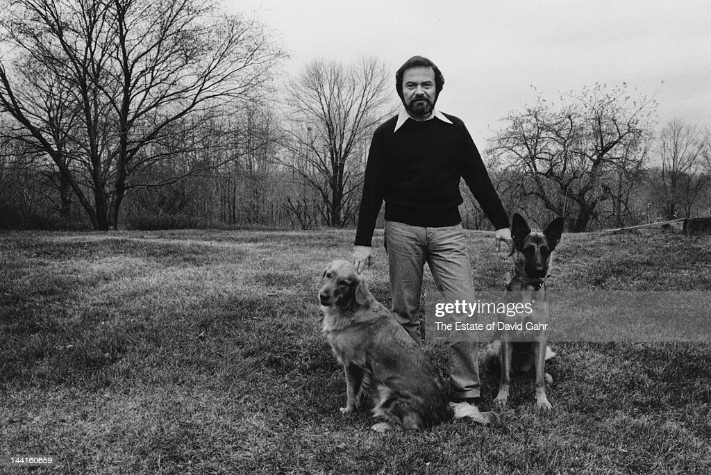 Author and illustrator Maurice Sendak poses for a portrait session at home in November 1973 in Connecticut.