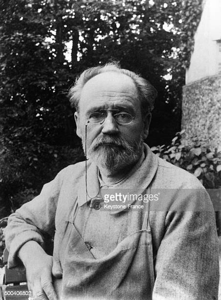Author and journalist Emile Zola circa 1890 in France