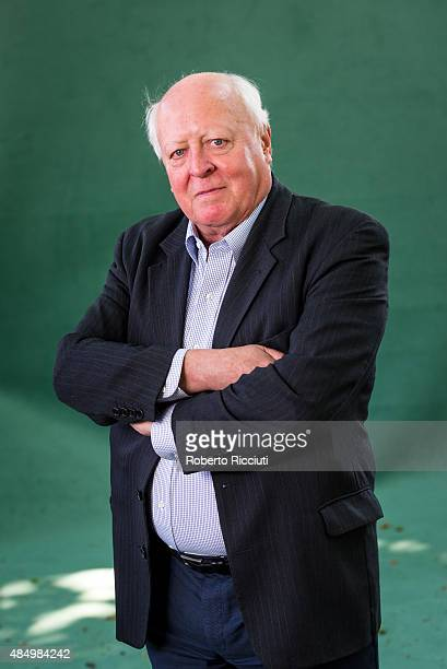 Author and journalist Jonathan Fenby attends a photocall at Edinburgh International Book Festival on August 23 2015 in Edinburgh Scotland