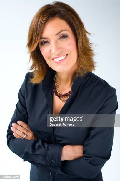 Author and journalist Suzy Welch poses on October 8 2008 in New York City New York